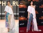 Gemma Chan In Ralph & Russo Couture - 'Captain Marvel' LA Premiere