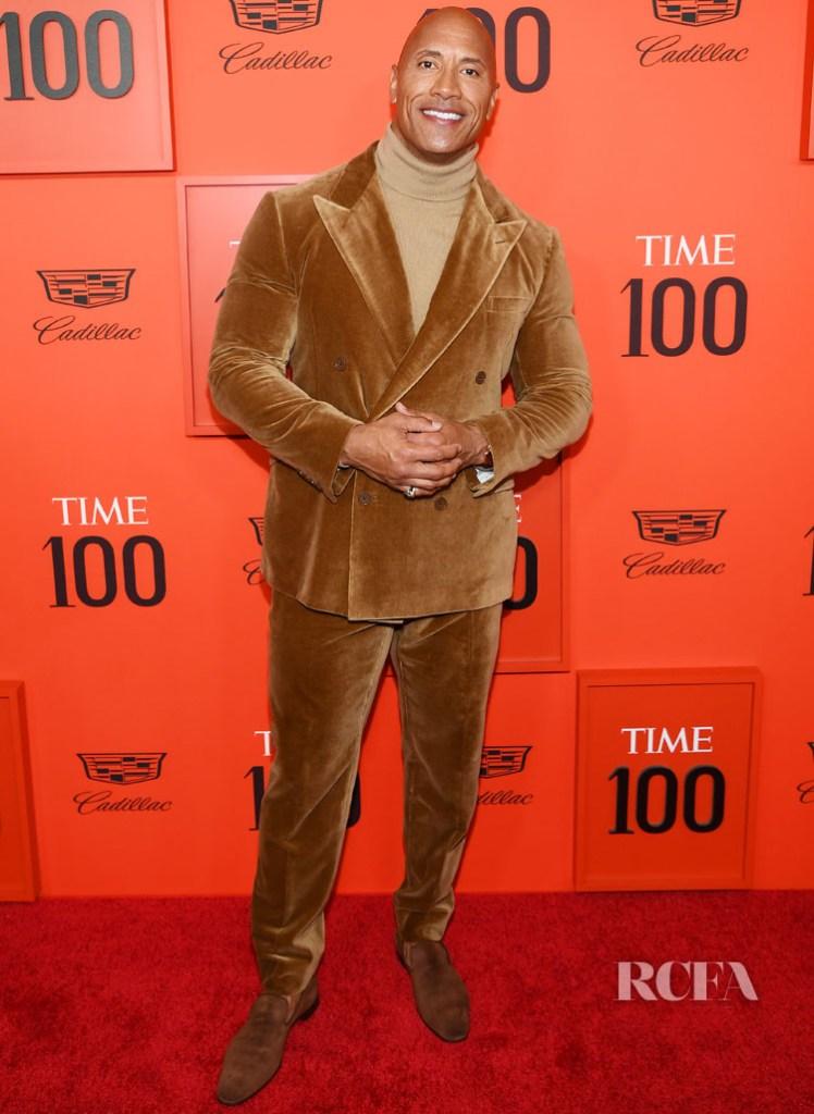 Dwayne Johnson In Ralph Lauren - TIME 100 Gala