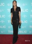 Gabrielle Union In Ralph Lauren - 'The Public' New York Premiere
