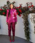 Gabrielle Union Queenin' In Pink For The Black Design Collective 1st Scholarship Tribute