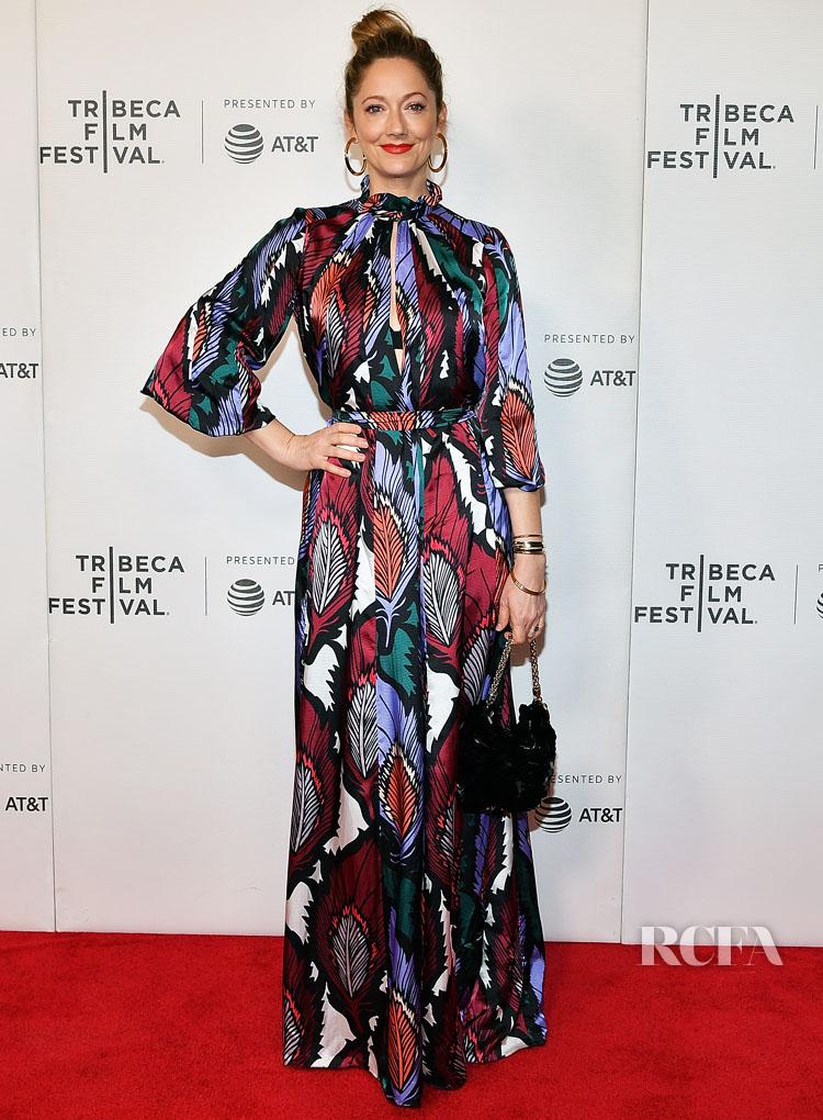 Judy Greer In Carolina - 'Buffaloed' Tribeca Film Festival Premiere