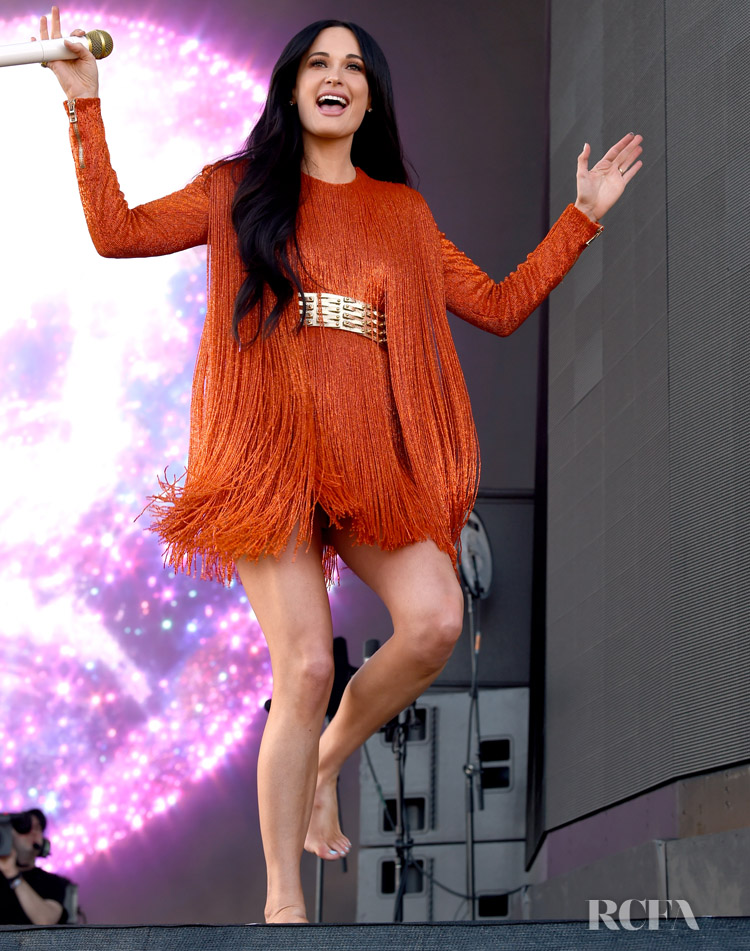 Kacey Musgraves' Brings Her YeeHaw Style To Coachella in Balmain