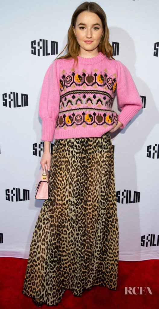 Kaitlyn Dever Mixes Prints For The 'Booksmart' San Francisco International Film Festival