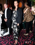Karolina Kurkova's Goes Floral For The 'Save Venice Gala'