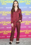 Lily Collins Reignites The Pajama Trend For The Contenders Emmys