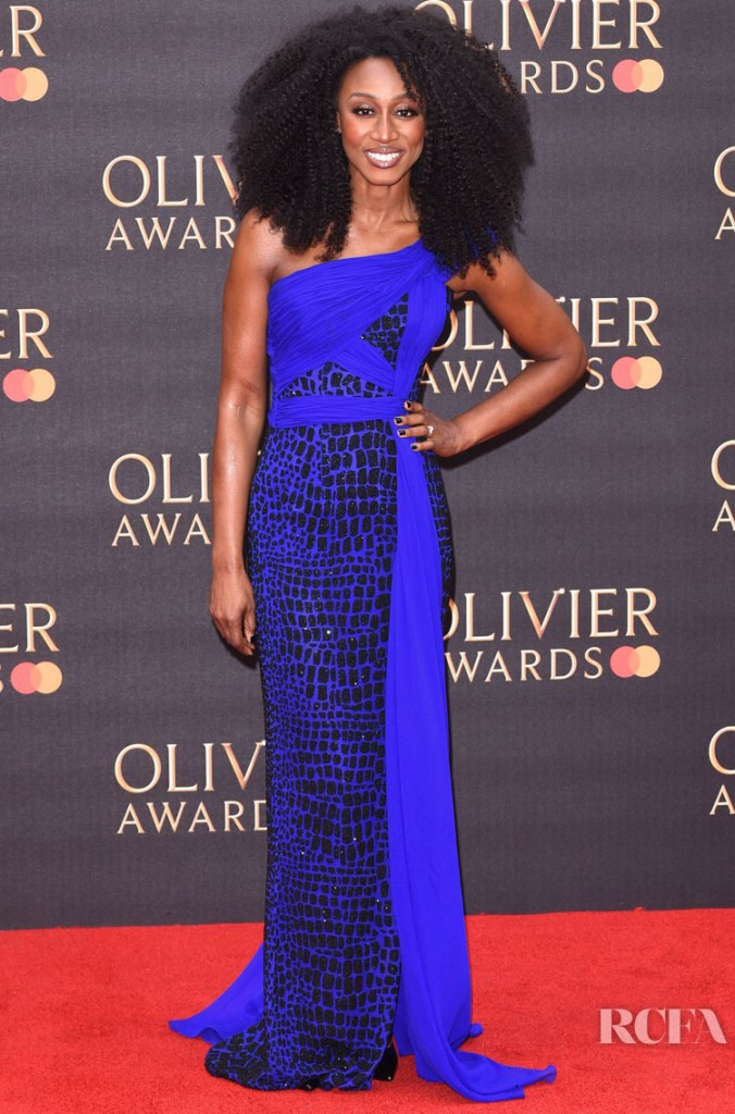 Beverley Knight in Nicholas Oakwell Couture - 2019 Laurence Olivier Awards