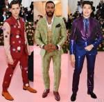 2019 Met Gala Menswear