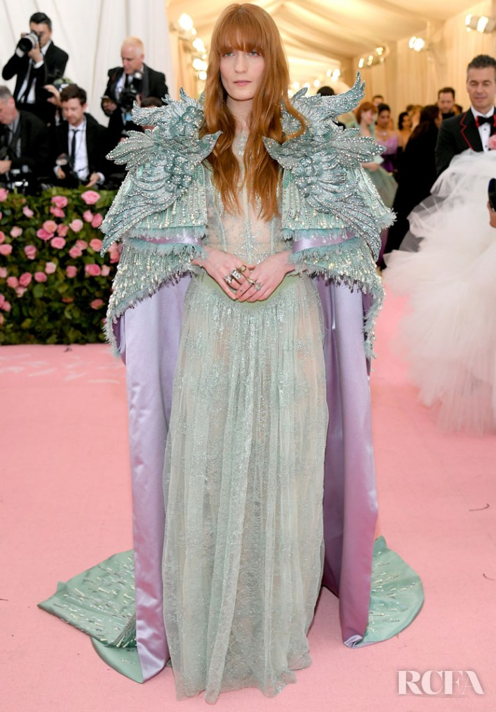 Florence Welch In Gucci - 2019 Met Gala