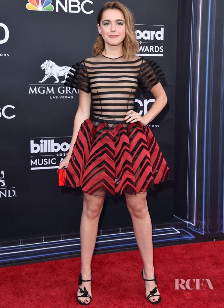 Kiernan Shipka In Dior Haute Couture 2019 Billboard Music Awards