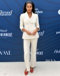 Laura Harrier Suits Up For The Hollywood Reporter's Empowerment In Entertainment Event