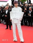 Li Yuchun 李宇春 In Balmain Haute Couture -'Les Miserables' Cannes Film Festival Premiere