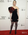 Lily Collins Channels Her Inner Palmer Girl For The 'Extremely Wicked, Shockingly Evil and Vile' Tribeca Premiere