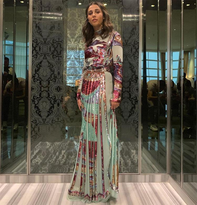 Naomi Scott Is A Pucci Princess For 'Aladdin' In Mexico City