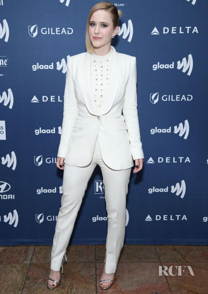 Rachel Brosnahan Ralph & Russo GLAAD Media Awards