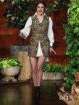 Shailene Woodley Taps Into Tapestry For The Ellen Show