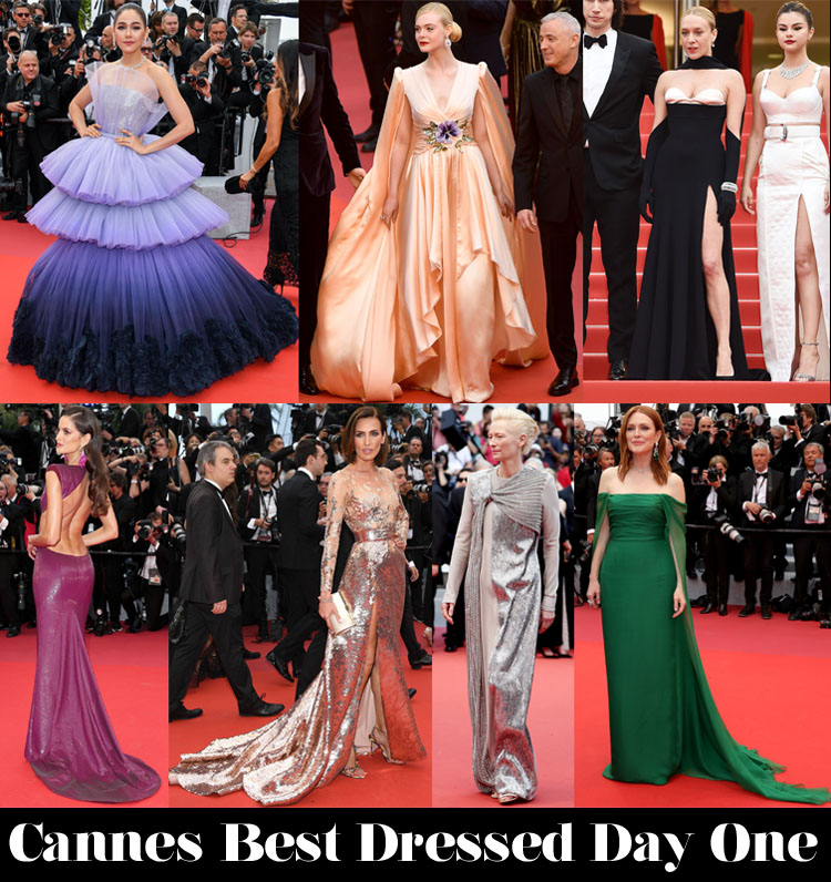 Who Was Your Best Dressed On Day One Of Cannes Film Festival