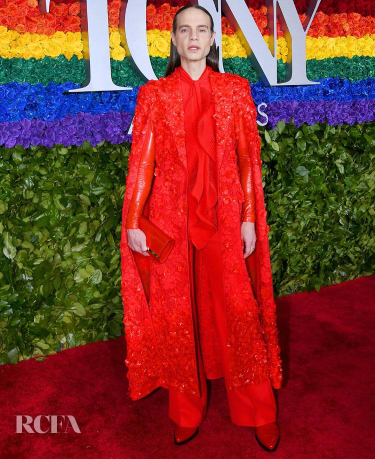 Jordan Roth in Givenchy Haute Couture - 2019 Tony Awards