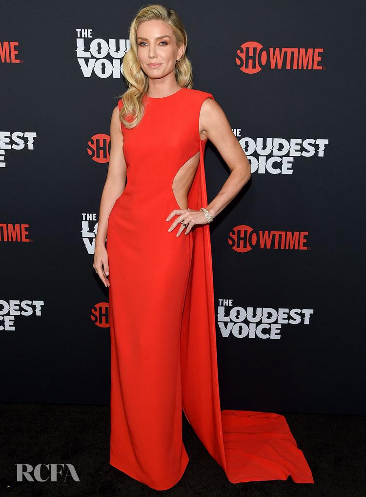 Annabelle Wallis In Stella McCartney 'The Loudest Voice' New York Premiere