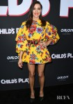 Aubrey Plaza Stood Out In Bold Florals For The 'Child's Play' LA Premiere