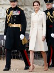 Catherine, Duchess of Cambridge Recycles Her Catherine Walker Coat For The Beating Retreat