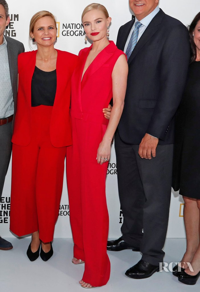 Kate Bosworth in Jason Wu Red Jumpsuit  - 2019 Moving Image Award