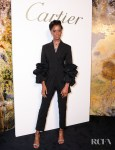 Letitia Wright Spotlights A. Teodoro At The Cartier Magnitude Dinner