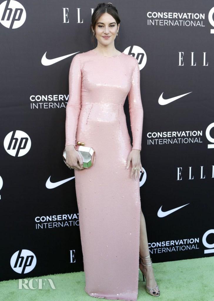 Shailene Woodley At The Conservation International + ELLE Los Angeles Gala