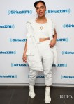 Tessa Thompson Brings Her 'Men In Black: International' Promo Tour Style To Build & SiriusXM