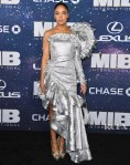 Tessa Thompson Goes Galactic For The 'Men In Black International' World Premiere