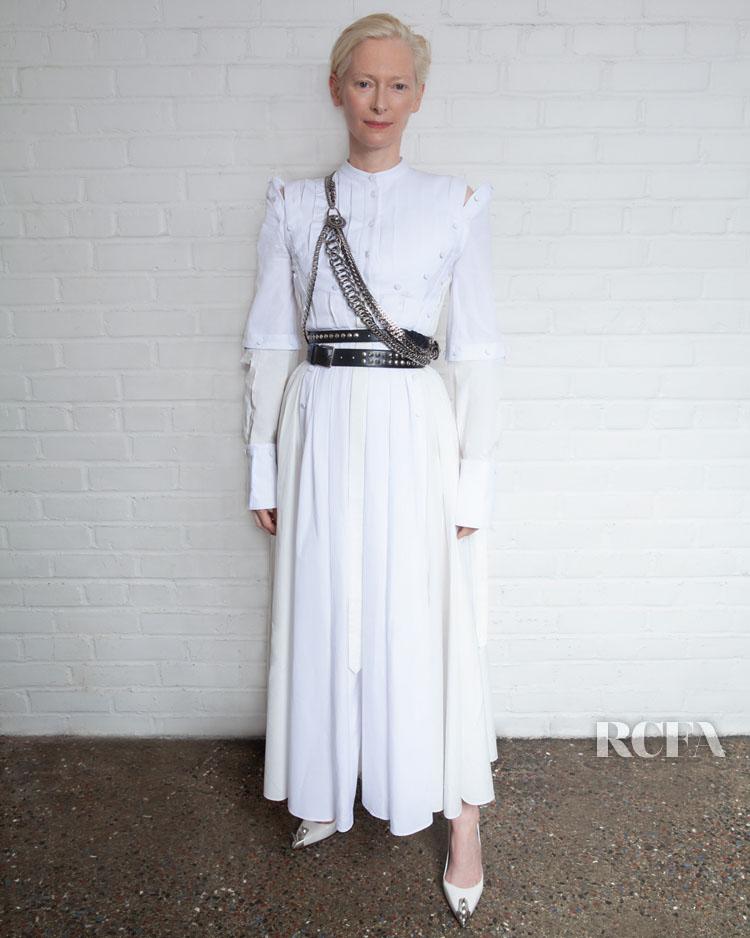 Tilda Swinton In Alexander McQueen - 'Orlando' New York Screening