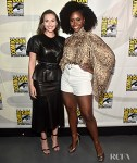 Elizabeth Olsen and Teyonah Parris Go Glam For 'WandaVision' At Comic-Con