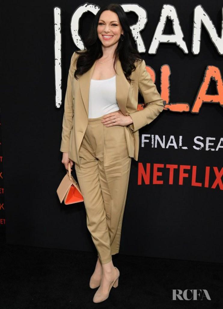 Laura Prepon wearing Ralph Lauren - 'Orange Is The New Black' Final Season World Premiere