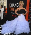 Laverne Cox's Tulle Explosion At The 'Orange Is The New Black' Final Season World Premiere