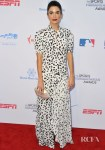 Nikki Reed's Leopard Print Maxi For The 5th Annual Sports Humanitarian Awards