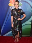 Anna Camp Falls Forward In Florals For The 2019 TCA NBC Press Tour
