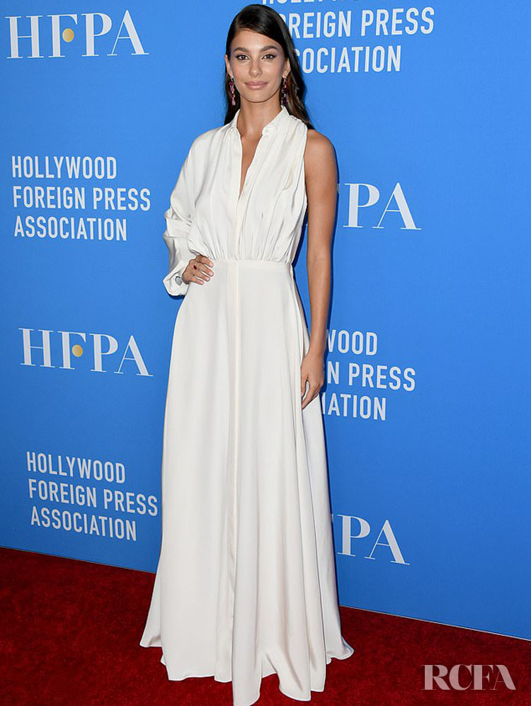 Camila Morrone's Elegant Outing For The Hollywood Foreign Press Association's Annual Grants Banquet