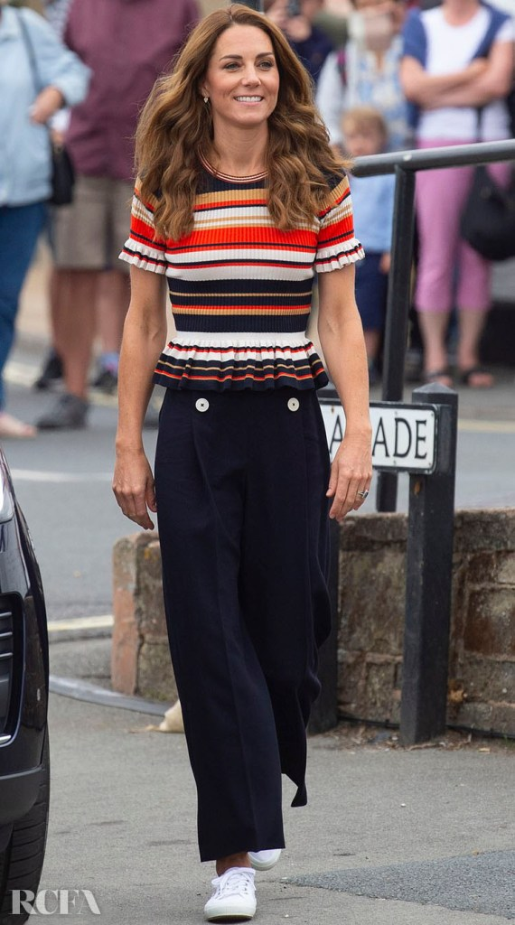 Catherine, Duchess of Cambridge Shows Off Her Post-Vacation Glow For The Launch Of The Inaugural King's Cup Regatta