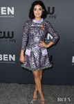 Lucy Hale Rocks A Festive Frock For The CW's Summer TCA All-Star Party