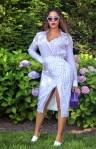 Beyonce Knowles' Purple Reign In Altuzarra