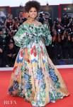 Zazie Beetz In Valentino Haute Couture - 'Joker' Venice Film Festival Premiere