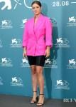 Adele Exarchopoulos In Jacquemus - 'Revenir' Venice Film Festival Photocall