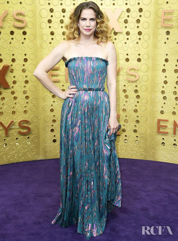 Anna Chlumsky In J. Mendel - 2019 Emmy Awards