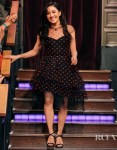 Constance Wu Was Polka Dot Pretty On The Late Late Show with James Corden