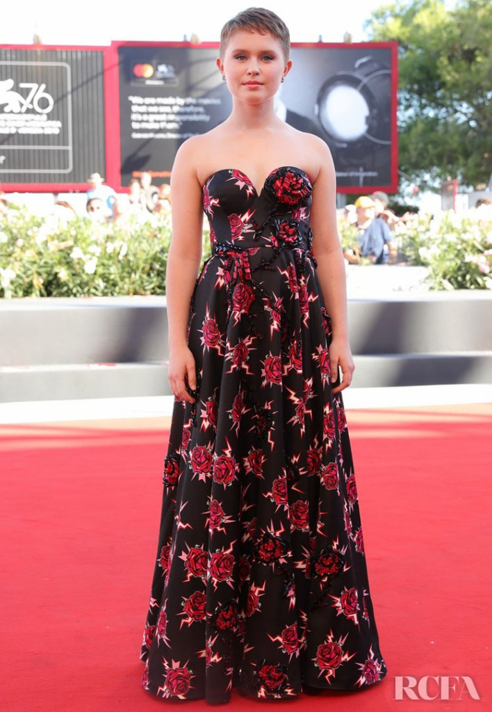 Eliza Scanlen In Prada - 'Babyteeth' Venice Film Festival Premiere