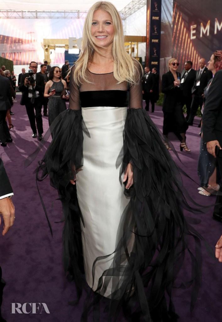 Gwyneth Paltrow In Vintage Valentino - 2019 Emmy Awards