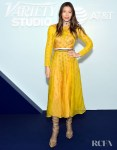 Jessica Biel In Fendi & Louis Vuitton - 'Limetown' Toronto  Film Festival Premiere