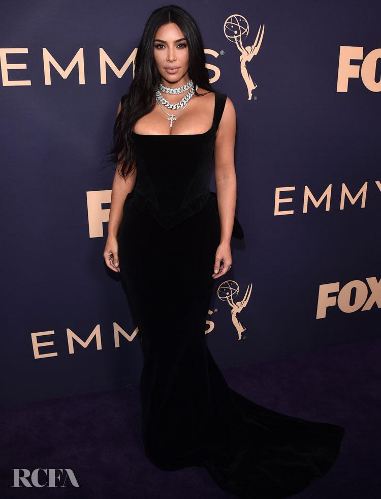Kim Kardashian In Vivienne Westwood - 2019 Emmy Awards