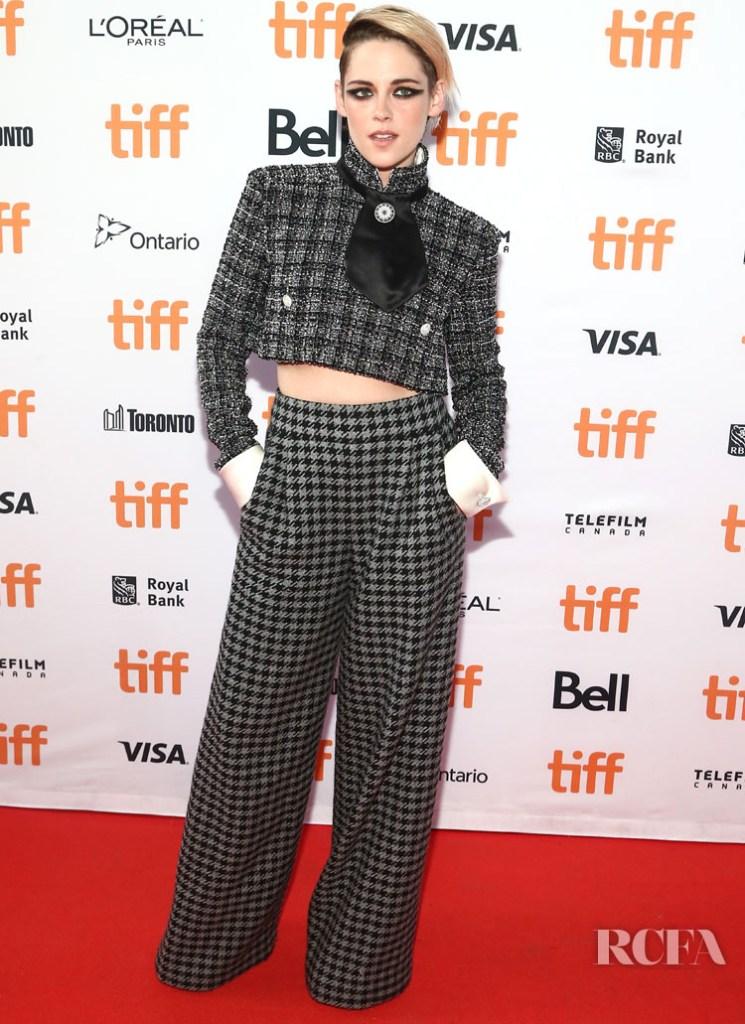 Kristen Stewart In Chanel Haute Couture - 'Seberg' Toronto Film Festival Premiere