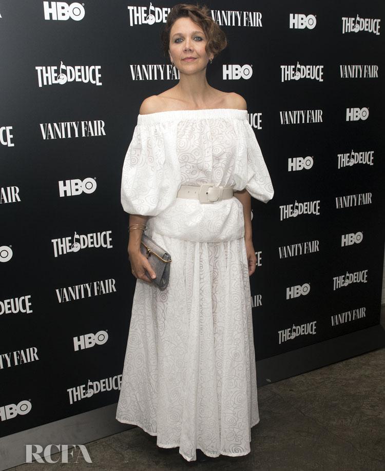 Maggie Gyllenhaal Goes Bohemian For HBO's 'The Deuce' New York Screening