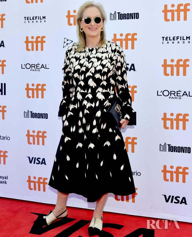 Meryl Streep In Valentino - 'The Laundromat' Toronto Film Festival Premiere